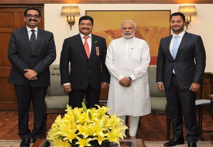 B.R.Shetty and Modi