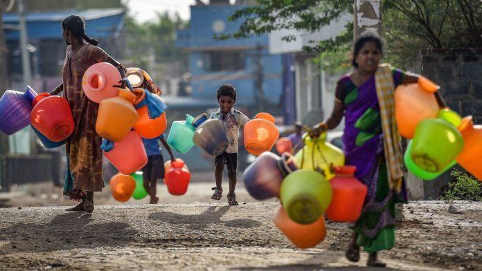 water crisis chennai