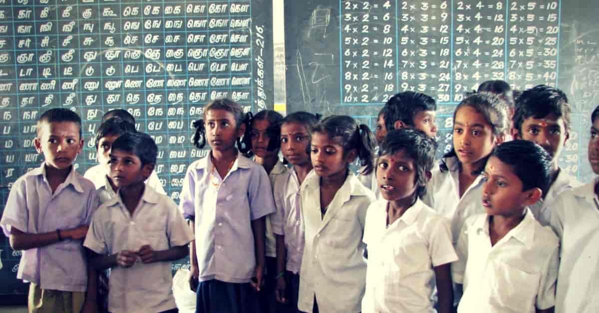 Government school children Tamilnadu