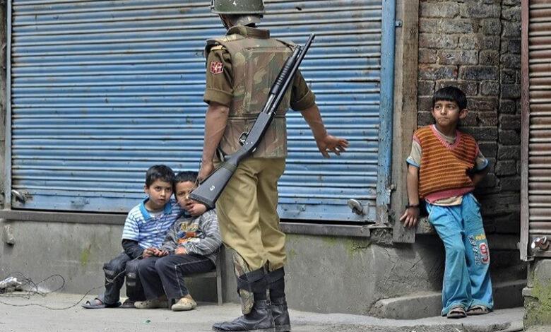 காஷ்மீர் குழந்தைகள் AFP