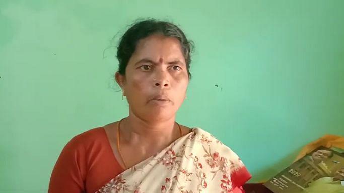 கால்பிரவு ஊராட்சி தலைவர் ராஜேஸ்வரி