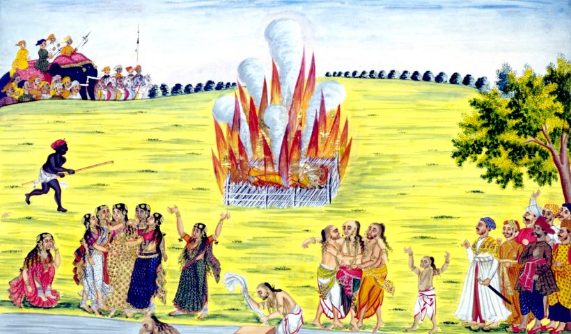 சதி எனும் உடன்கட்டை ஏறுதல்