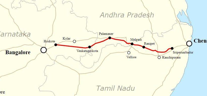 சென்னை - பெங்களூர் நெடுஞ்சாலை