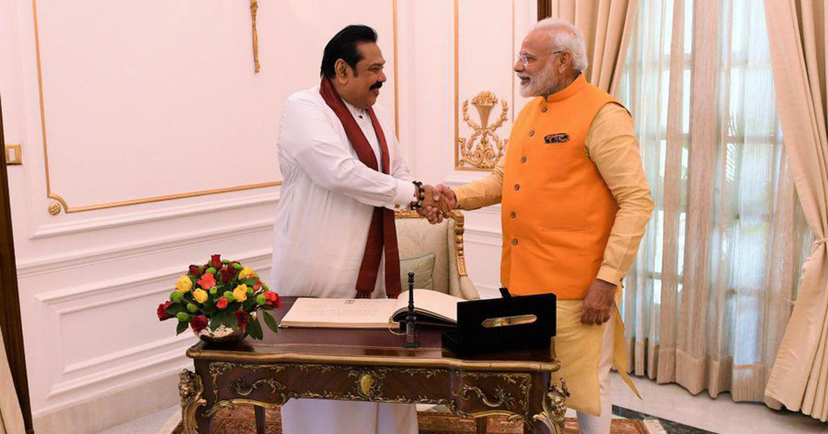 மோடி ராஜபக்சே