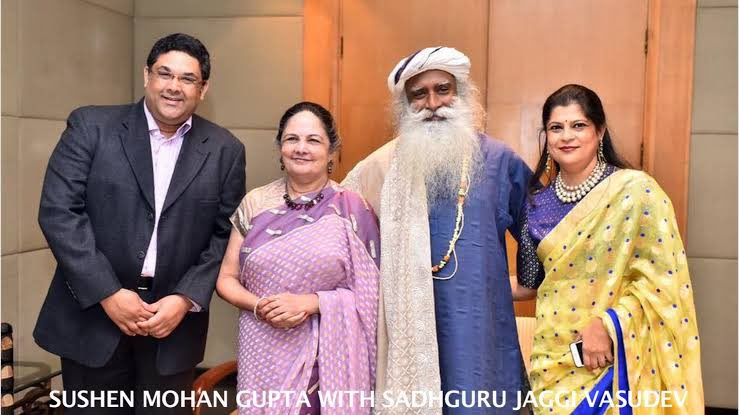 ஜக்கி வாசுதேவ் சுஷென் குப்தா